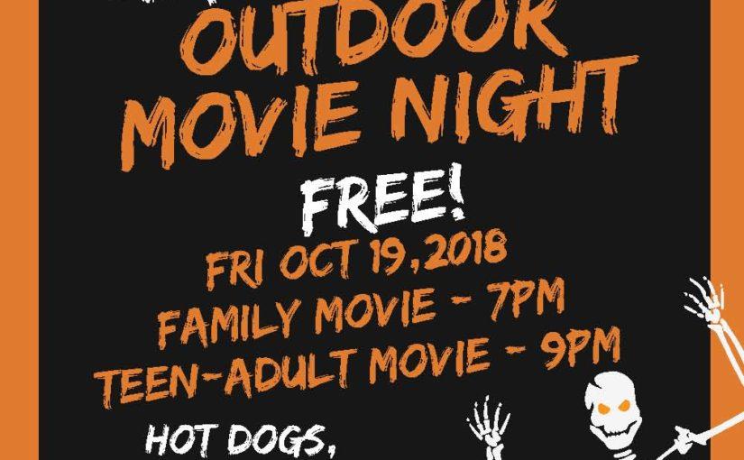 Alpha Park Halloween Outdoor Movie Night!