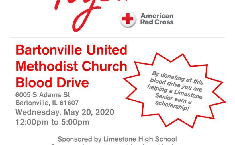 Blood Drive at Bartonville United Methodist Church