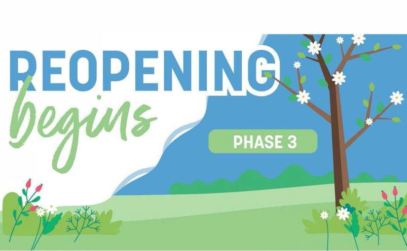 Reopening Begines Phase 3